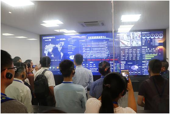 """温州市高新技术企业协会19年度第二次高新技术企业互访学习参观""""庄吉智能化制造""""活动圆满完成"""
